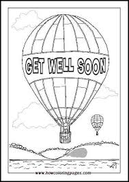 Printable Get Well Soon Coloring Pages For Kids
