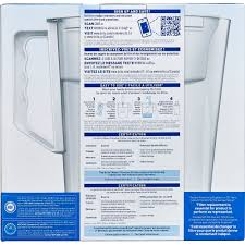 brita water filter pitcher. Interesting Water Brita Slim Water Pitcher With 1 Filter BPA Free White 5 Cup  Walmartcom In Filter I