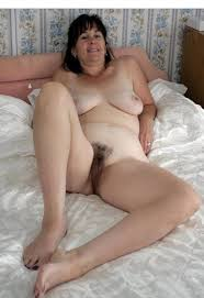 Chubby hairy naked women