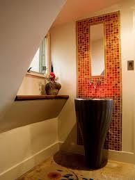 crystal glass bathroom wall mirror tile mosa13 s3