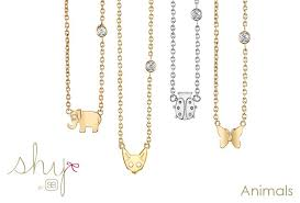 shy necklace collection
