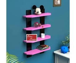 heart shape wall shelf house shaped shelves s accent floating 4 ladder kids room winsome 1 zoom
