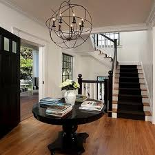 iron orb chandelier view full size classic cottage foyer featuring restoration hardware foucault s
