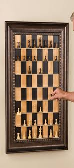 Vertical Chess Board To Hang On Your Study Wall