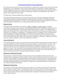 Financial Statements Format Templates Free Simple Income Statement Format Templates At