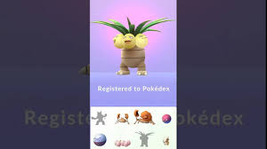 Exeggcute Evolution Chart Pokemon Go Exeggcute Evolves Into Exeggutor