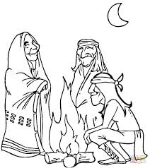 Native American Coloring Pages Americans Free