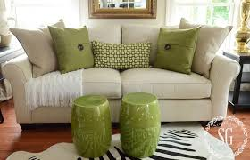 picture of olive throw pillow set for living area couch and also zebra rug