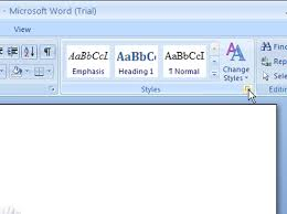How To Modify A Style In Word 2007 Dummies
