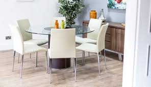 dining gumtree round argos glass table varazze sets chrome for and extending chair tables top looking