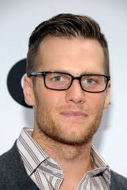 Mens Hairstyles With Glasses Tom Brady Specs Up His Look For Ugg Opening Do Toms And Long Hair