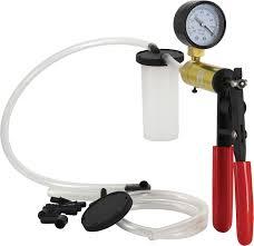 vacuum pump and brake bleeder kit