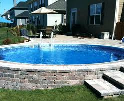 above ground swimming pool ideas. Inground Pool Ideas Above Ground Deck On A Budget Swimming