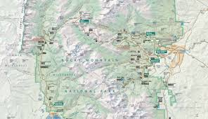official rocky mountain national park map pdf  my rocky mountain park