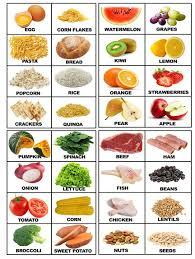 Food Flash Cards Food Printable Flashcards With Real Food Food Pinterest Food