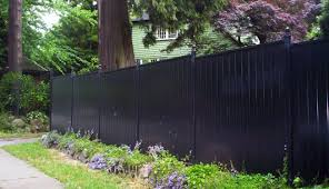 solid metal fence. Picture Solid Metal Fence