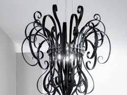 black glass modern contemporary murano chandelier dmcio0s6