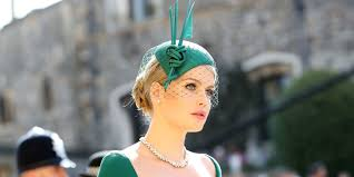 lady kitty spencer princess diana s niece just arrived at the royal wedding