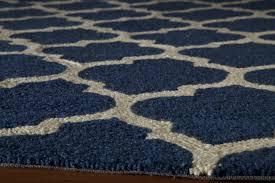navy blue geometric rug