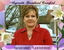 """Anjanette Ivy """"Angie"""" Grantland Crawford (1968-2011) - Find A Grave Memorial"""