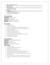 Resume Interests Section Skills Cv Interests Section Noxdefense Com