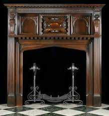 10 inspiration gallery from antique fireplace mantel decor