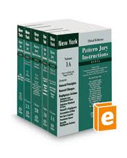 New York Pattern Jury Instructions