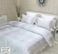 luxury bed linen sateen bed sets king size
