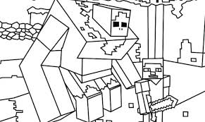 Coloring Pages Printable For Kids Color Codes Logo Minecraft