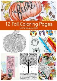 Computer Coloring Games Inspirational 12 Fall Coloring Pages For