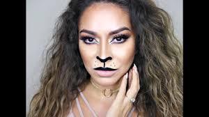 y lion makeup tutorial cat halloween makeup tutorial