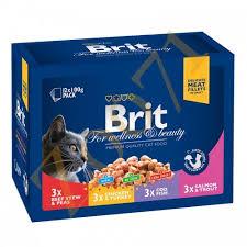 <b>Brit премиум</b> Набор <b>паучей</b> д/кошек <b>Family</b> Plate Семейная ...