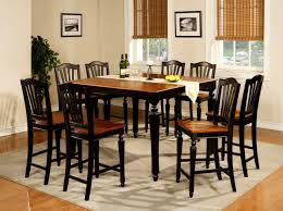Target Dining Room Tables Furniture Splendid Tall Dining Room Table Black Sets Round
