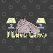 Moth Loves Lamp Meme By Barnyardy Redbubble