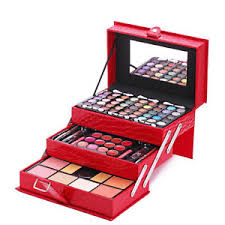 image is loading professional leather mirror makeup set cosmetic palette makeup
