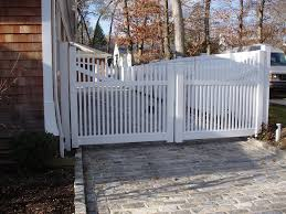 Vinyl Fence Double Gate Installation Advantages of PVC Gate So You