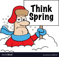 Image result for clip art spring snow
