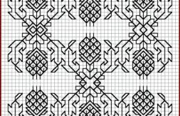 Free Blackwork Embroidery Charts Blackwork And Redwork Free Cross Stitch Patterns