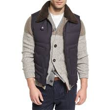 60 best My Polyvore Finds images on Pinterest | Fashion men ... & Brunello Cucinelli Quilted Vest w/Removable Shearling Collar (€2.760) ❤  liked on Adamdwight.com