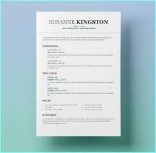 Free Modern Downloadable Resume Templates Modern Resume Template Free Download Word Resume Resume Examples