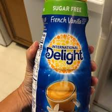 Get international delight coffee creamer, gourmet, caramel macchiato, sugar free (32 oz) delivered to you within two hours via instacart. International Delight Sugar Free French Vanilla Coffee Creamer Bottle Reviews 2021