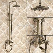 dual shower head for two people. Fashionable Shower Head For Bathtub Faucet Attractive Tub Antique Brass With . Dual Two People F