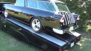 1955 Chevy Nomad and Classic Car Hauler - YouTube