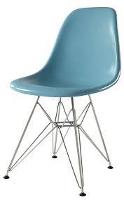charles e style  dsr retro eiffel fibreglass dining side chair