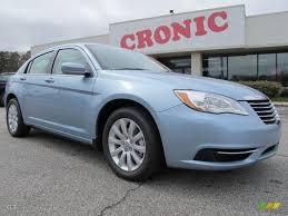 2012 Crystal Blue Pearl Coat Chrysler 200 Touring Sedan #62097923 ...