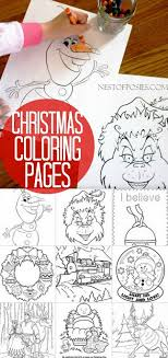 You will receive one pdfs with 6 coloring sheets. Christmas Coloring Pages Christmas Coloring Pages Christmas Colors Christmas Activities