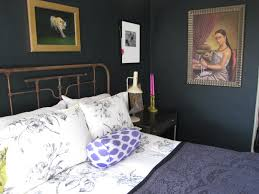 Paint My Bedroom Farrow Ball Blue Black Paint In My Old Sausalito Bedroom My