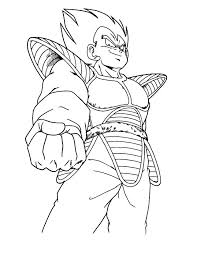 Vegeta Coloring Pages Coloring Pages Of Z Coloring Page Dragon Ball