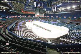 Flames Central Seating Chart Scotiabank Saddledome Seat Row Numbers Detailed Seating