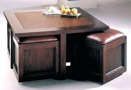 coffee table with stools tables storage and ing guide trunk india